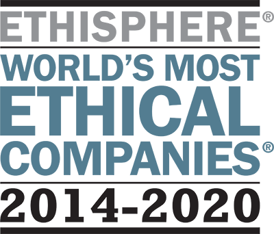 World's Most Ethical Companies logo 2020