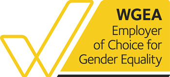 WGEA Employer of Choice for Gender Equality award.