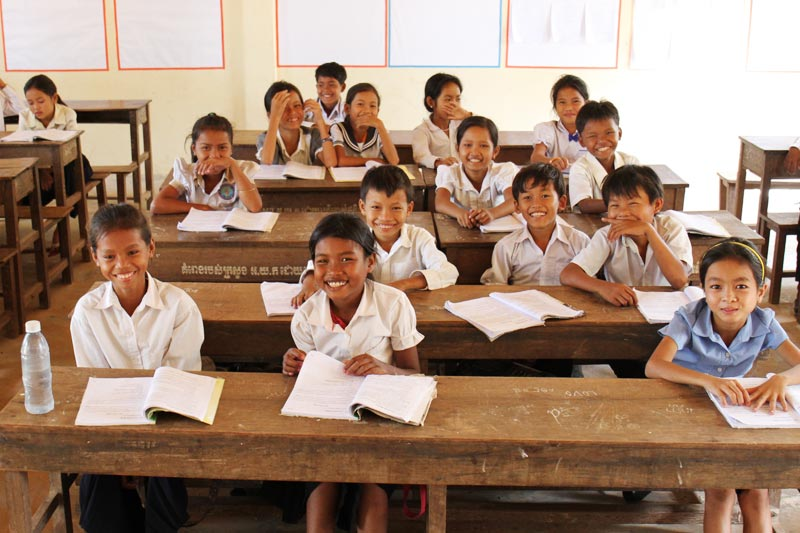 Children's Financial Literacy project in Cambodia