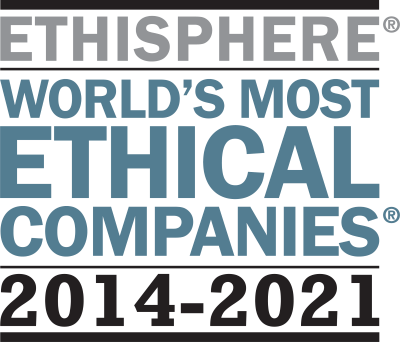 Ethisphere World's Most Ethical Companies 2014-2021 logo