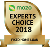 Mozo Experts Choice 2018 logo for Fixed Home Loan product