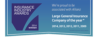 Insurance Industry Awards - 2014 winner